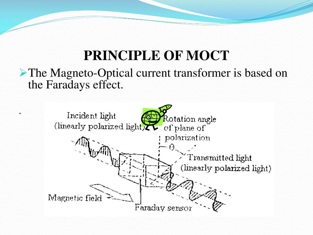 PPT - MOCT MAGNETO OPTICAL CURRENT TRANSFORMER PowerPoint