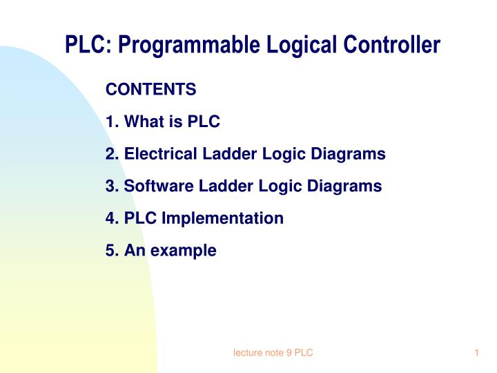 Ppt plc programmable logical controller powerpoint presentation plc programmable logical controller asfbconference2016 Gallery