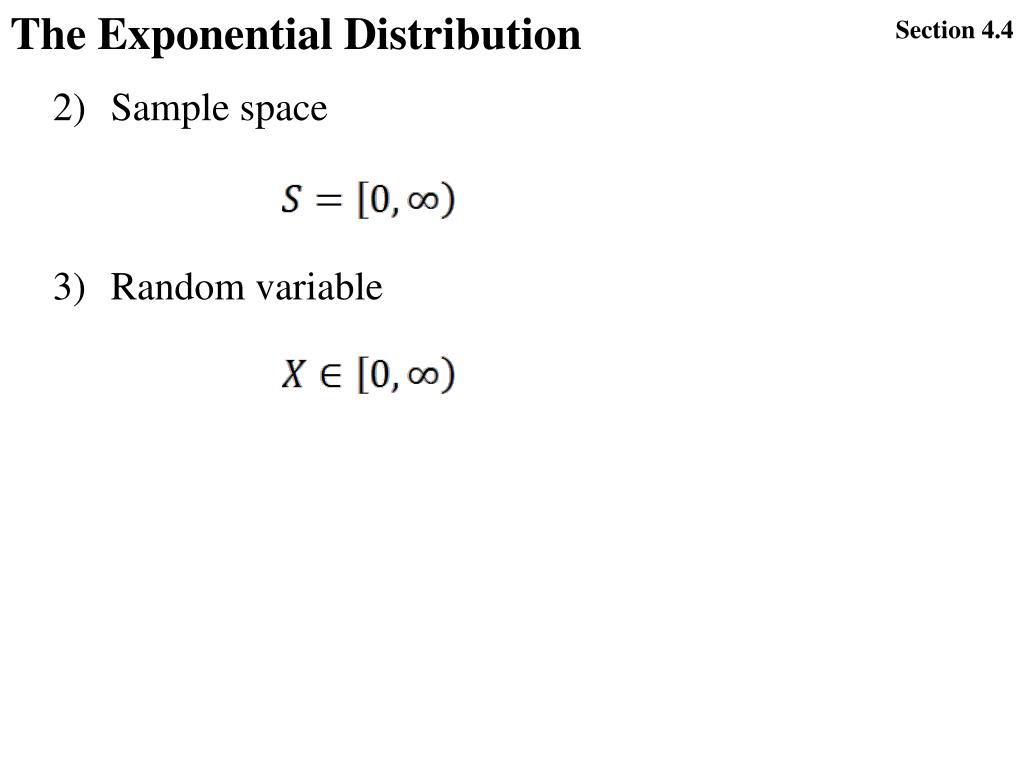 PPT - Ch4: 4 3 The Normal distribution 4 4 The Exponential