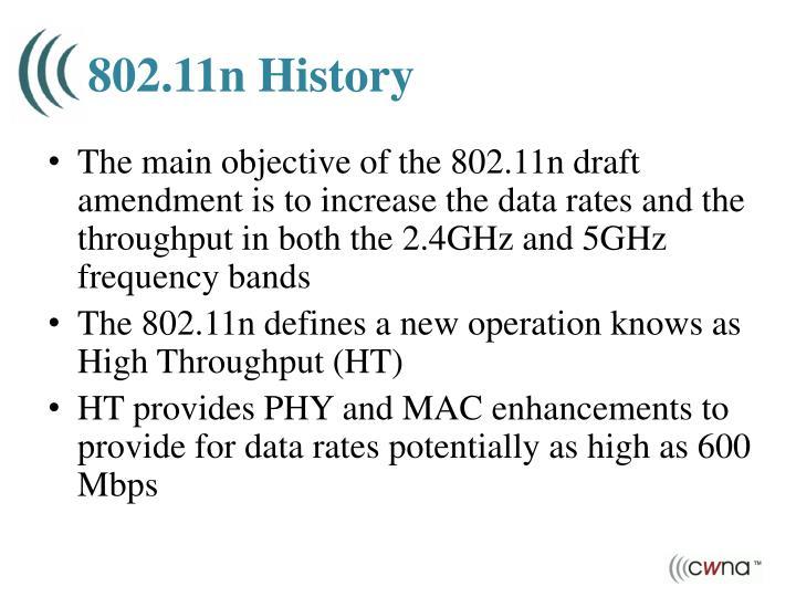 802 11n history