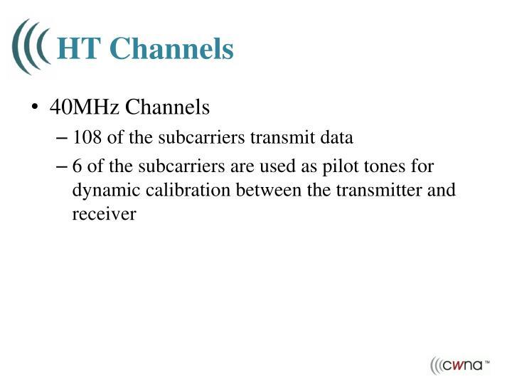 HT Channels