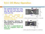 8 2 1 dc motor operation