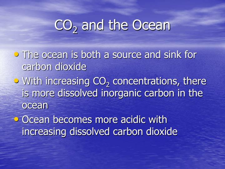 Co 2 and the ocean