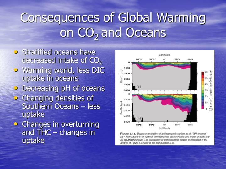 Consequences of Global Warming on CO