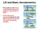 lift and basic aerodynamics1