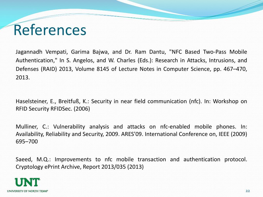 PPT - NFC based Two-Pass Mobile Authentication PowerPoint