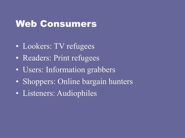 Web consumers