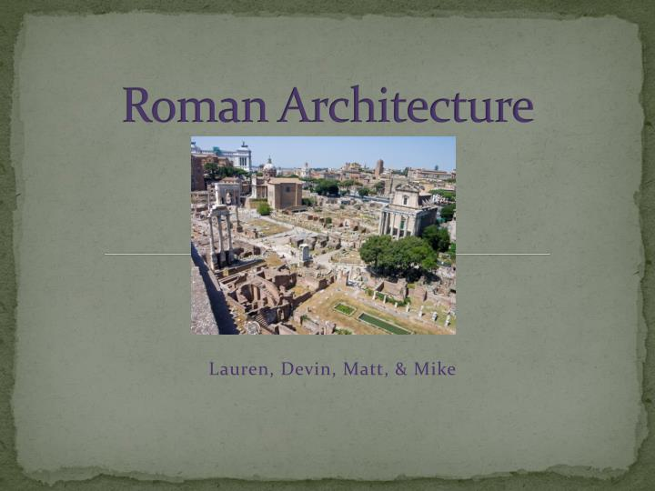in a short essay summarize roman art and architecture More essay examples on architecture rubric while the greeks were more xed in their ways regarding art and design, the romans were more mural paintings were done in a variety of themes, depictions of daily life, animals, and portraits romans would also use architectural elements like.