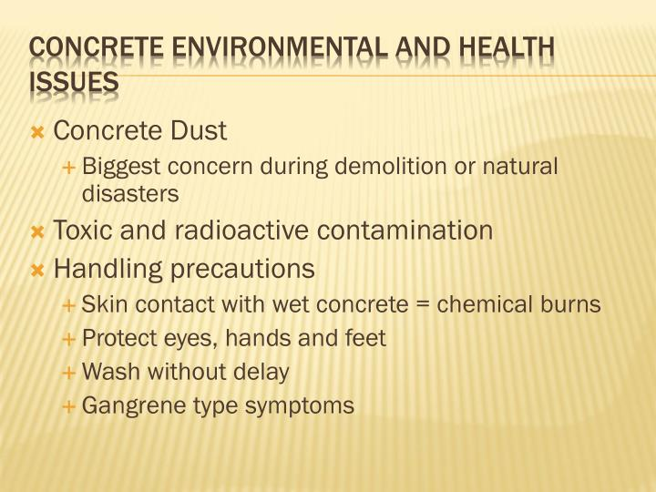 Concrete Dust