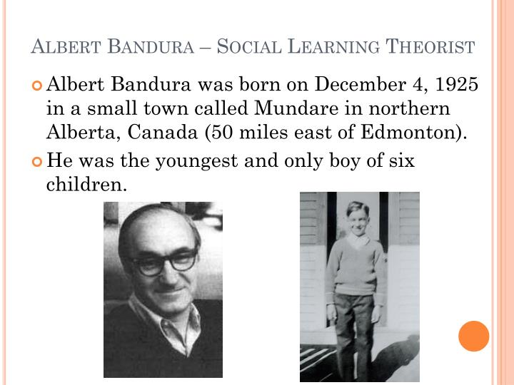 critic on albert banduras social learning Albert bandura is a famous social psychologist whose bobo doll study illustrates the social learning theory of psychology in this lesson, we'll.