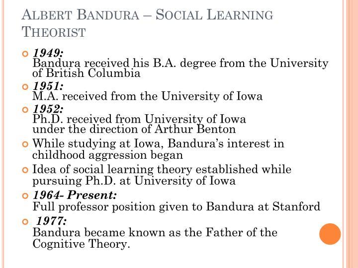 social learning theory summary