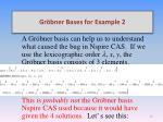 gr bner bases for example 22