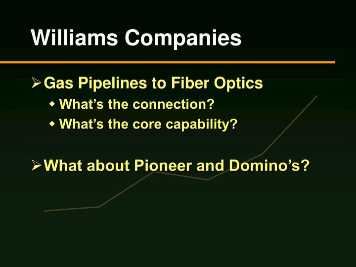 Williams companies