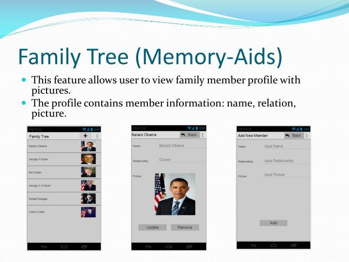 Family Tree (Memory-Aids)