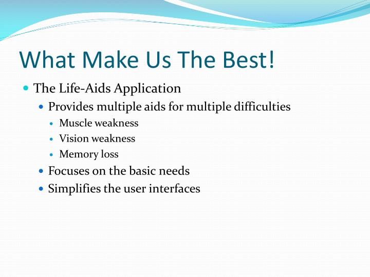What Make Us The Best!