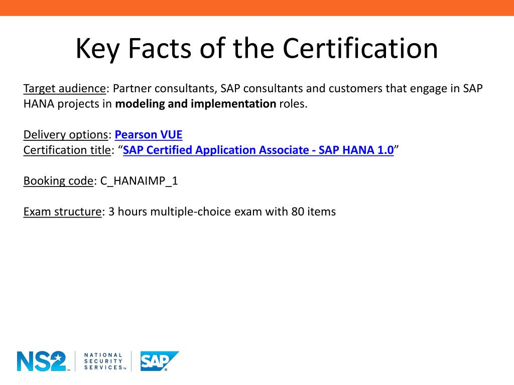 PPT - SAP HANA Exam Preparation PowerPoint Presentation - ID:2407869