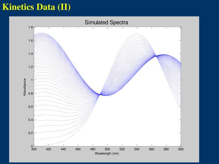 Kinetics Data (II)