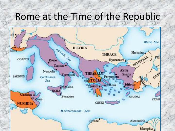 Rome at the Time of the Republic