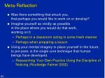 meta reflection1