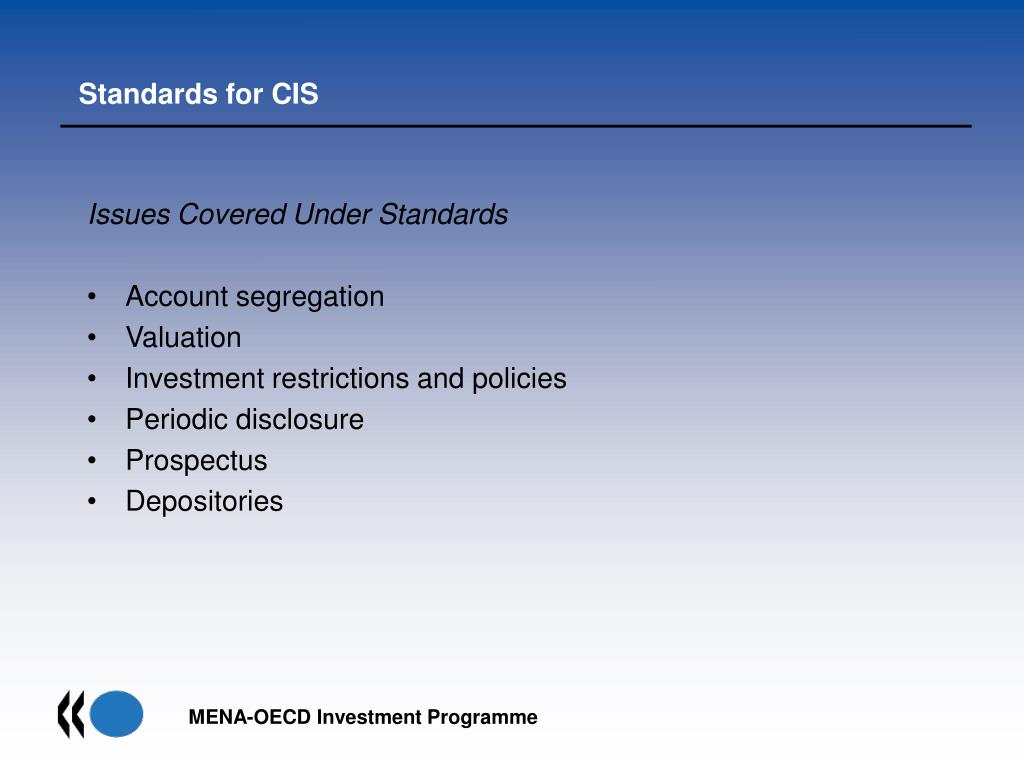 oecd investment restrictions