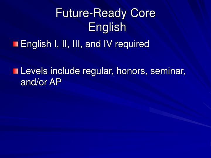 Future-Ready Core