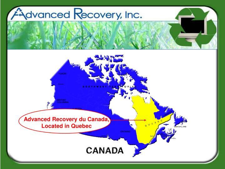 Advanced Recovery du Canada,
