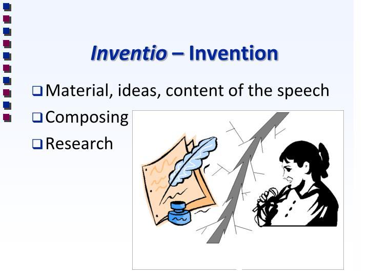 Inventio invention