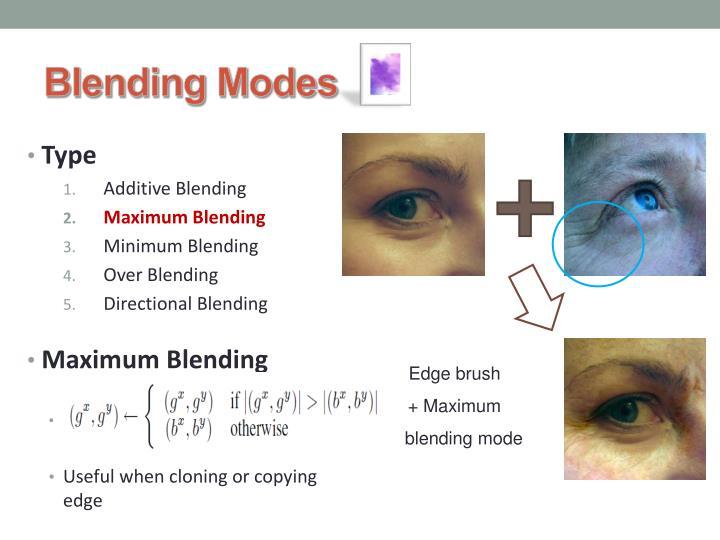 Blending Modes