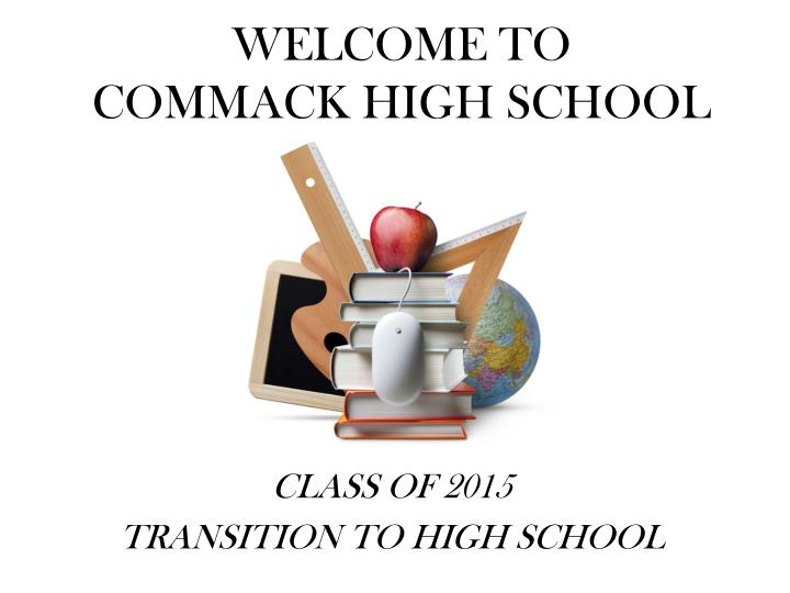 welcome to commack high school n.