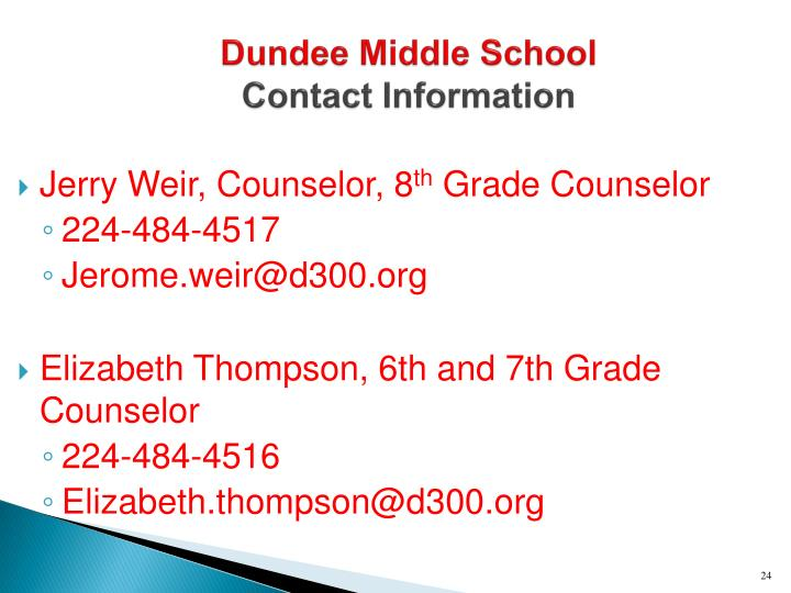 Dundee Middle School