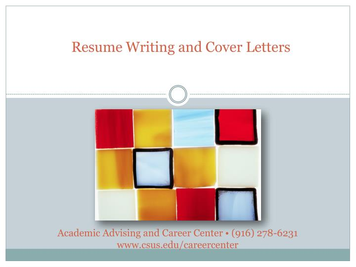 resume writing and cover letters n.