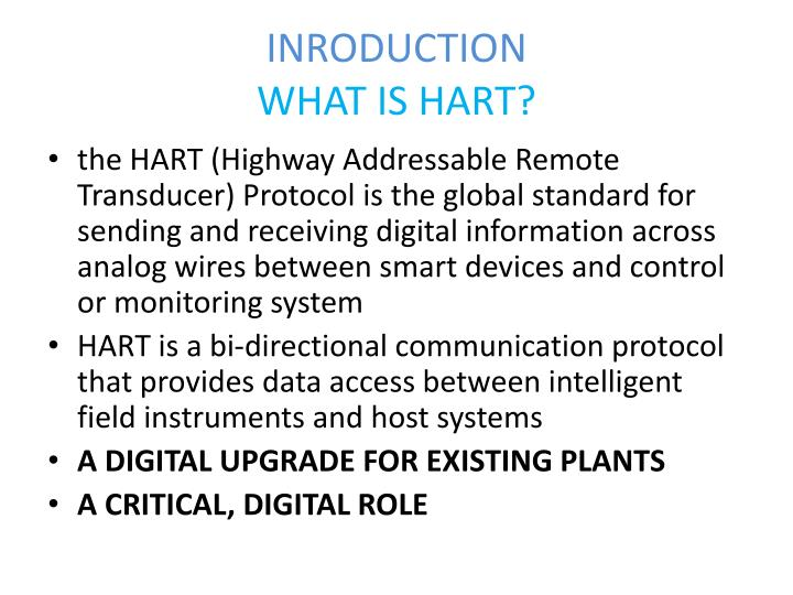 Inroduction what is hart