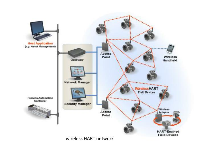 wireless HART network