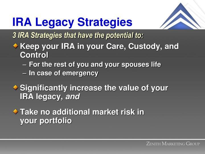 IRA Legacy Strategies