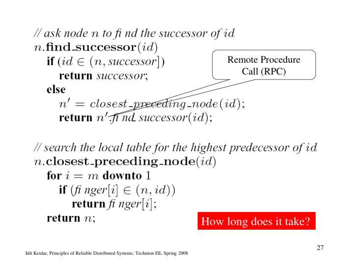 Remote Procedure