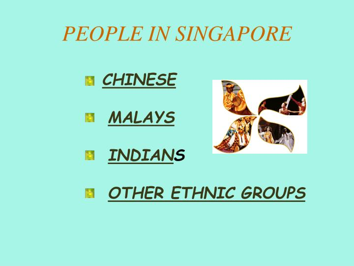 People in singapore