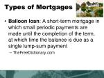 types of mortgages1