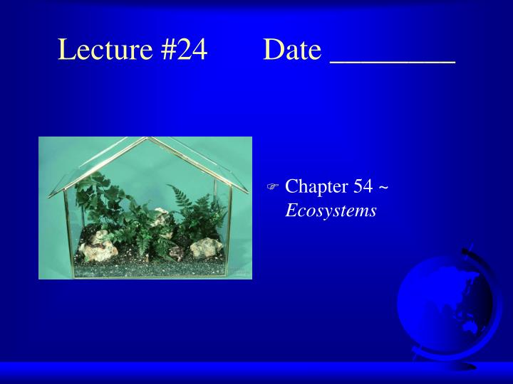 lecture 24 date n.
