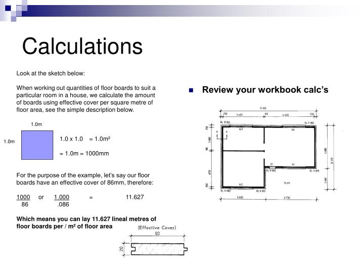Review your workbook calc's