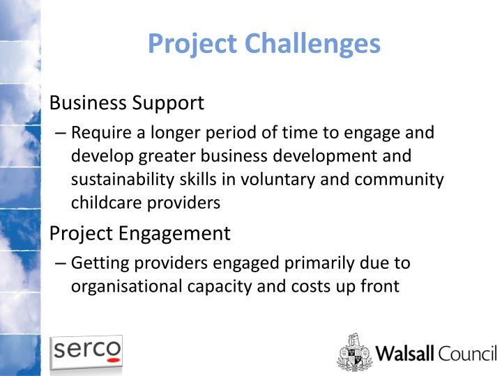 Project Challenges