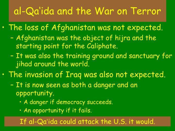al-Qa'ida and the War on Terror