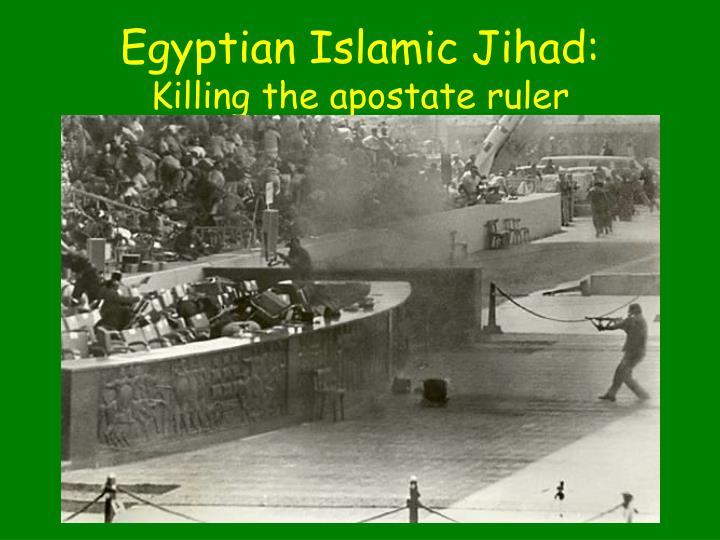 Egyptian Islamic Jihad: