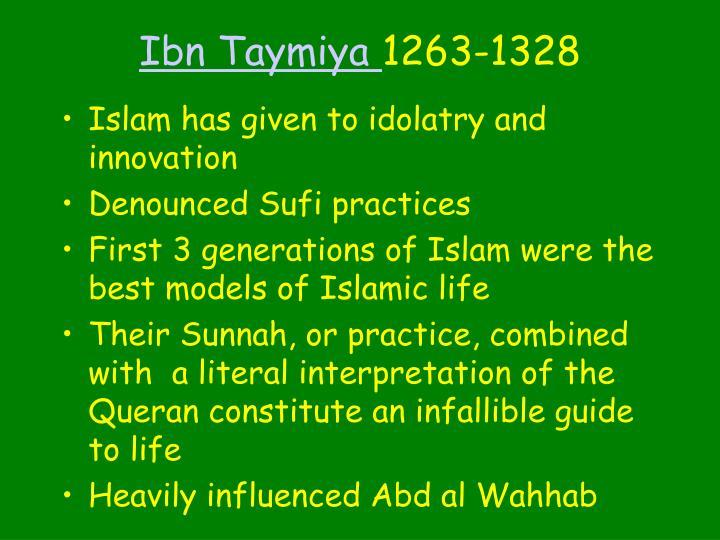 Ibn Taymiya