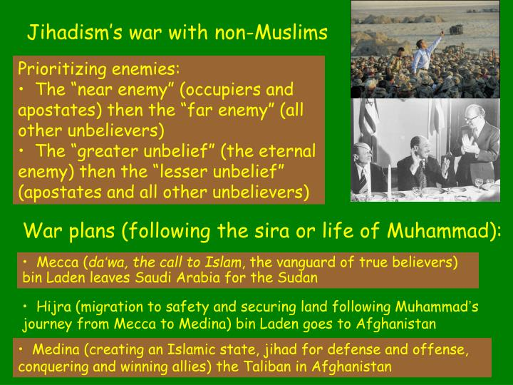 Jihadism's war with non-Muslims
