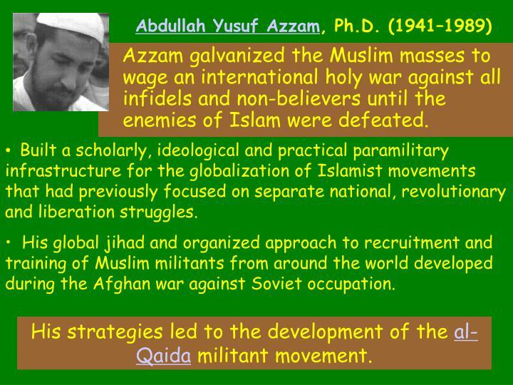 Abdullah Yusuf Azzam