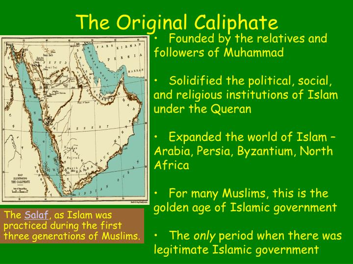 Founded by the relatives and followers of Muhammad