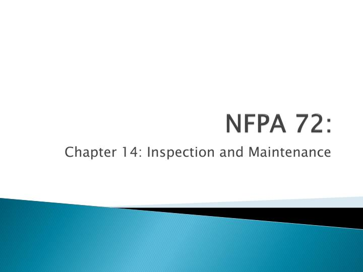 Ppt Nfpa 72 Powerpoint Presentation Id 2410113