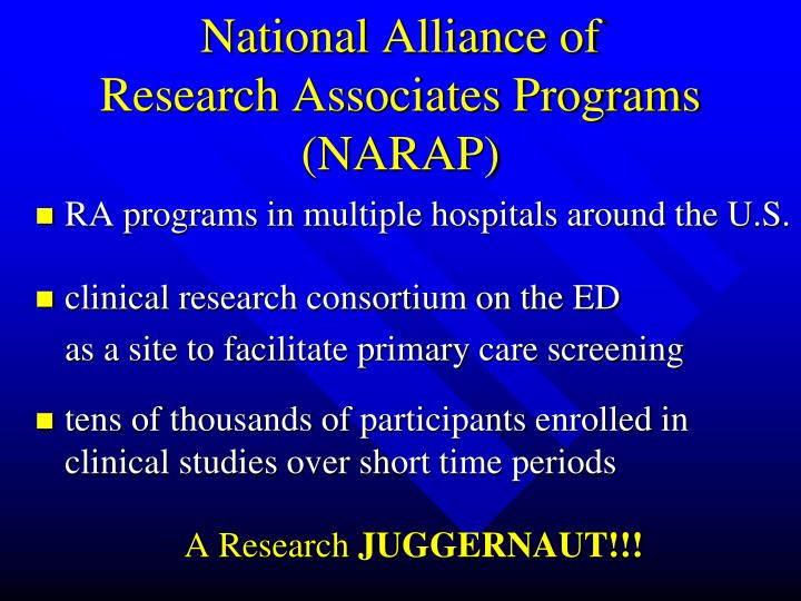 National Alliance of