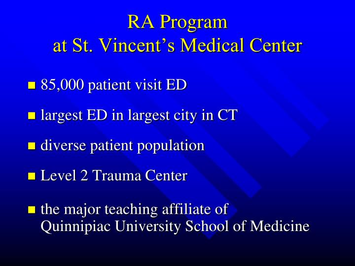 RA Program