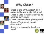why chess